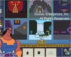 I always knew Kronk was the artistic one...